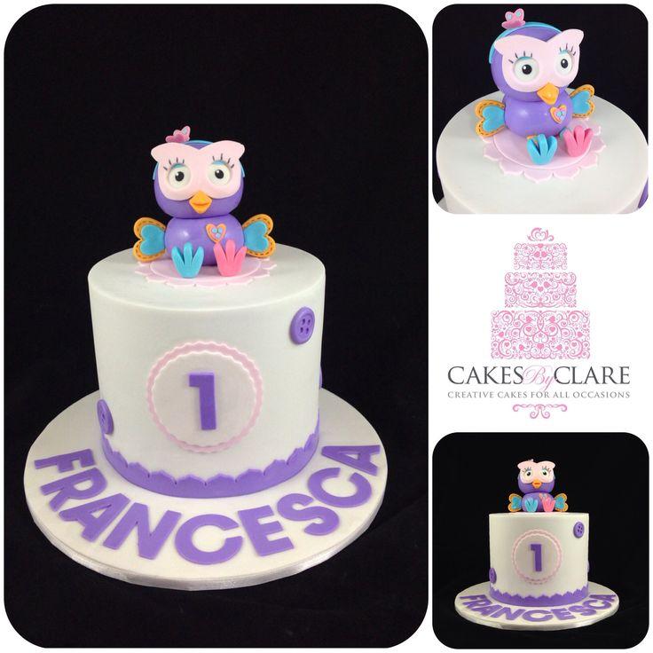Hootabelle inspired cake
