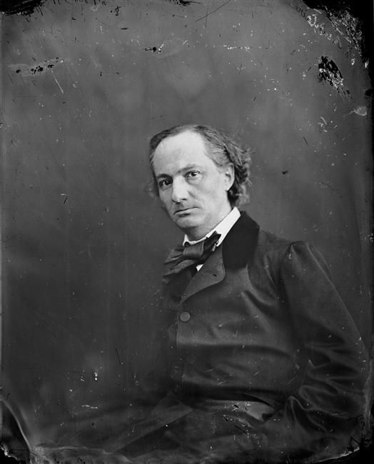 """I have cultivated my hysteria with pleasure and terror."" ― Charles Baudelaire. Musical poet and explorer. Delighted us with his own personal brand of Satanic hyperbole. Read ""Les Fleurs du Mal"". Embraced the decadence and eroticism of death."