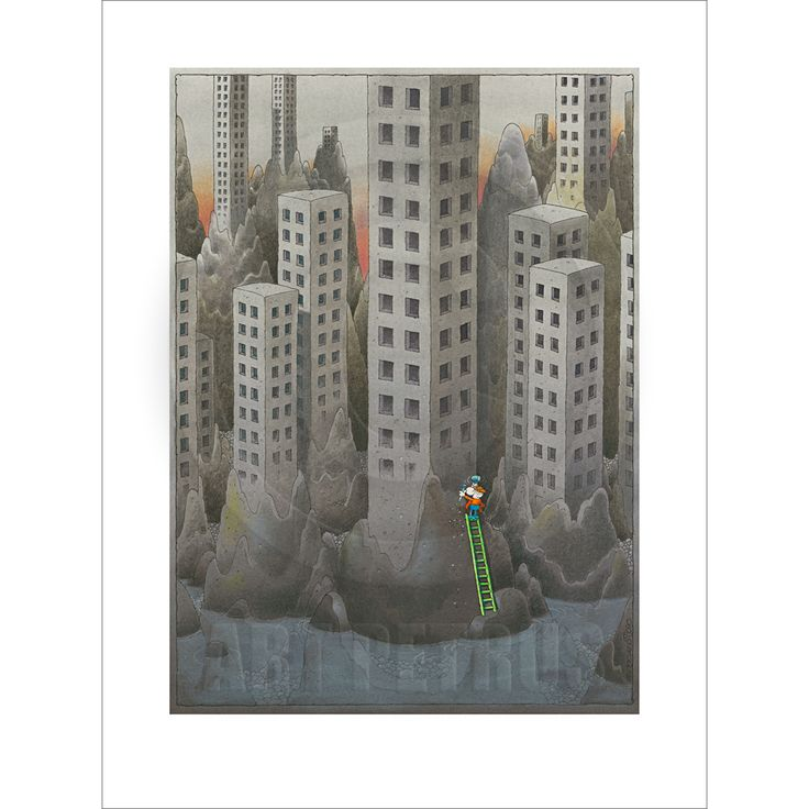 """""""The Sculptor"""" Original Limited Edition Fine Art Print available from www.mordilloart.com"""