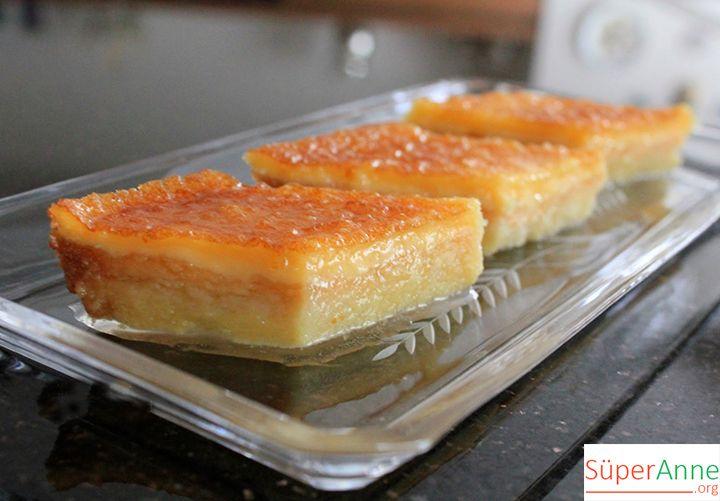Selanik Tatlısı Tarifi | Süper Anneden Kolay Yemek Tarifleri