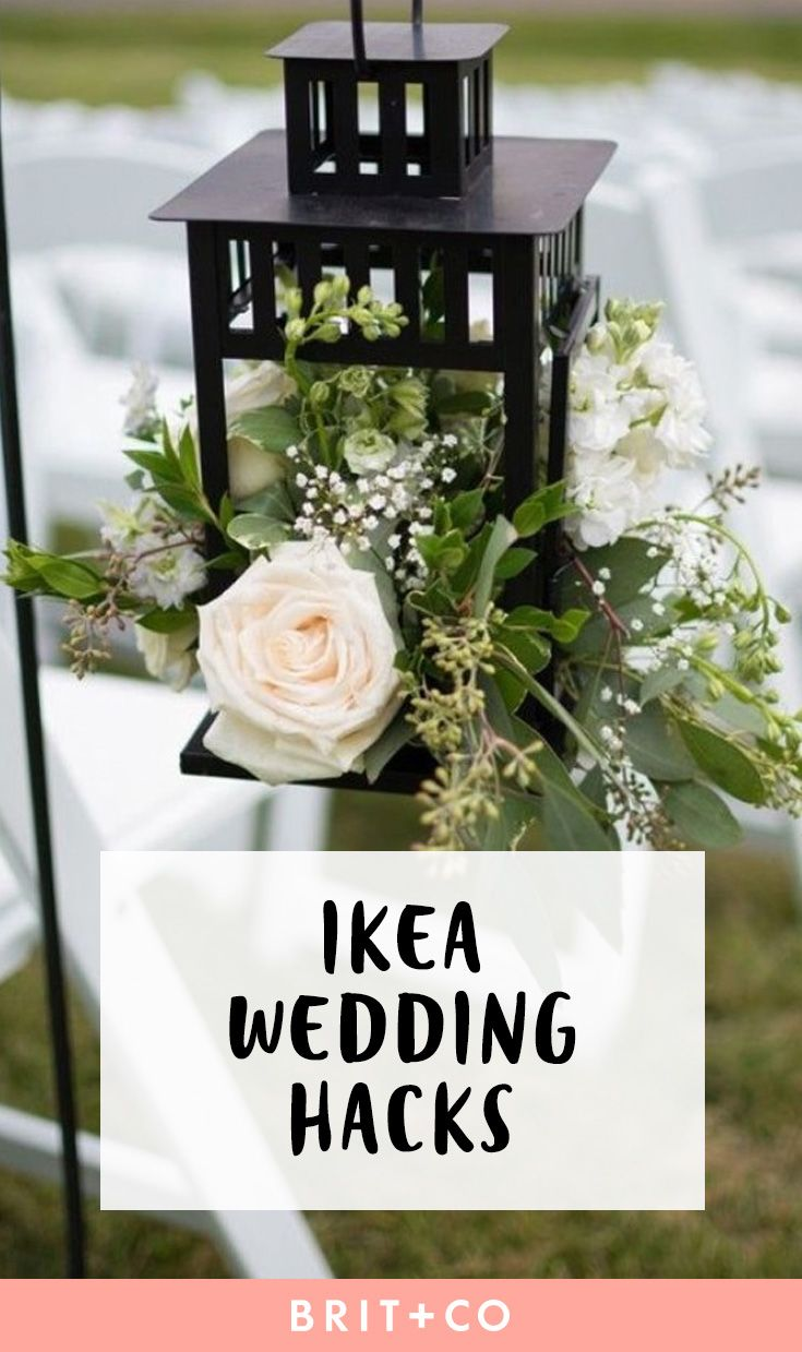 Best 25 diy wedding centerpieces ideas on pinterest diy wedding these ikea wedding hacks will save you some serious dough wedding reception decorations on a budgetdiy solutioingenieria Images