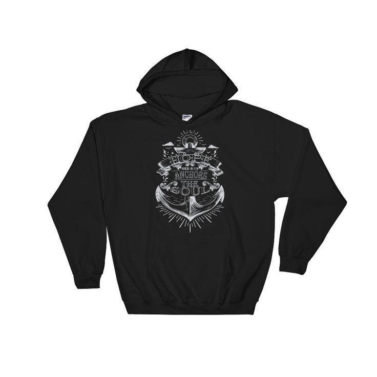 Hope Anchors Hooded Sweatshirt