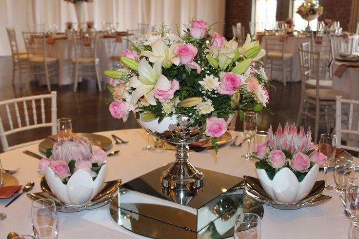 White tulip bowl