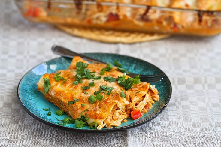 Tasty Kitchen Blog: Pumpkin Enchiladas. Guest post by Dara Michalski of Cookin' Canuck, recipe submitted by TK member Ann of How Crazy Cooks...