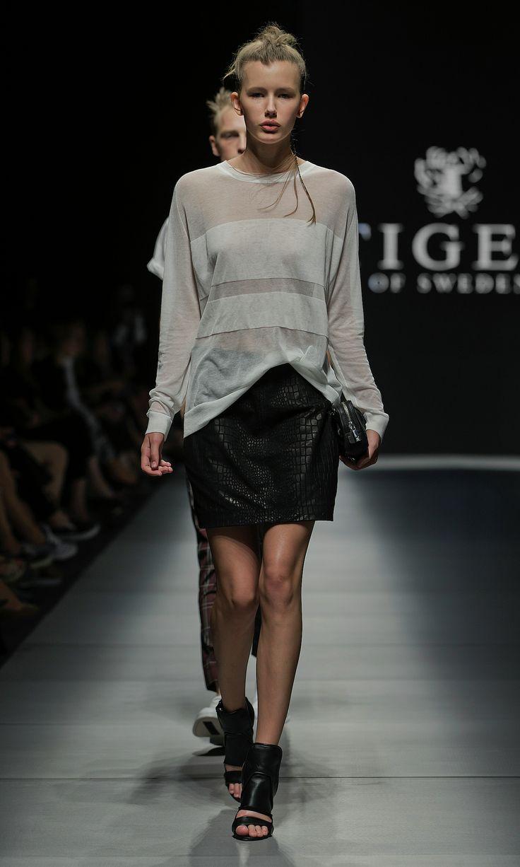 Fashion Show - Tiger of Sweden Women's SS14 #fashion #style #fashionshow #runway #SS14 #spring2014 #spring14 #womenswear