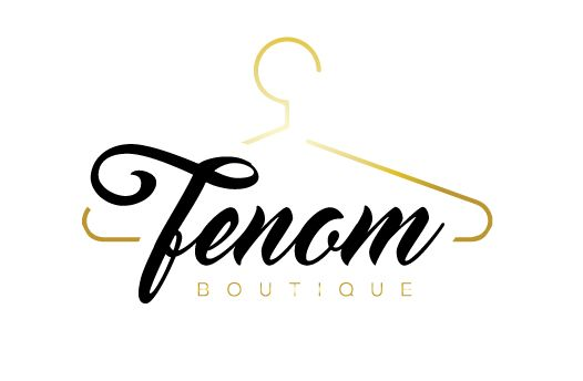 logo design for Fenon Boutique by the logo boutique - #hangerlogo