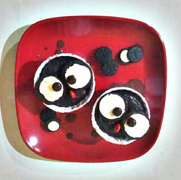 Choc pudding owls