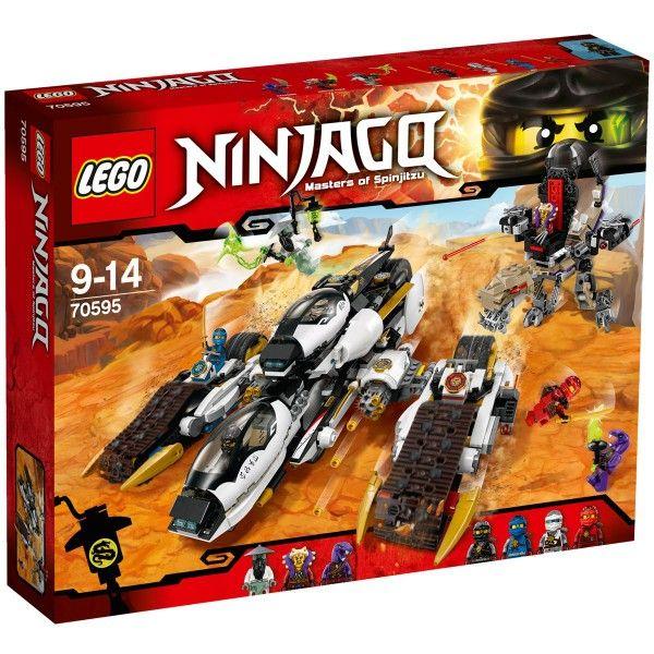 lego ninjago 70595 le tank ultra furtif