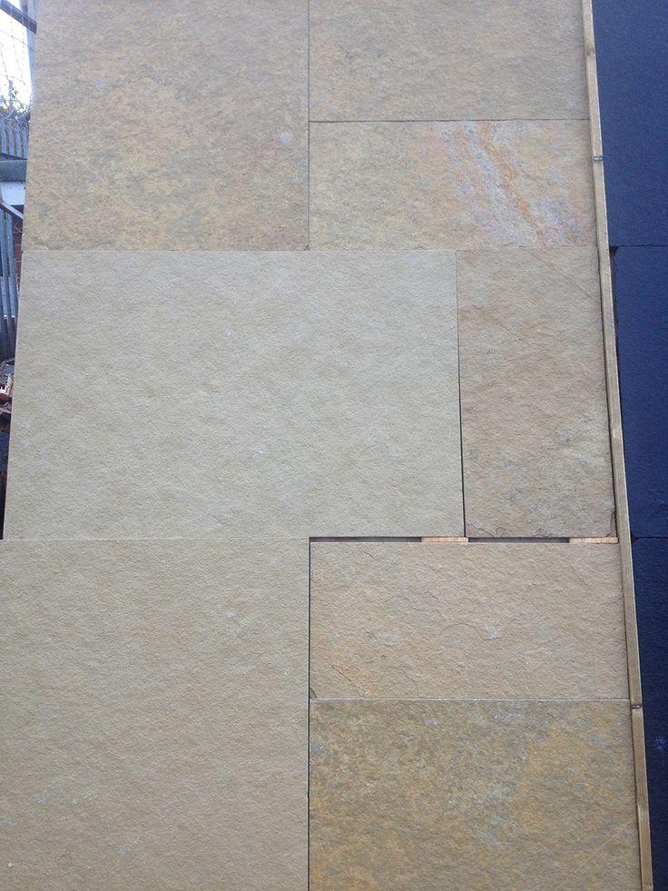 Indian Limestone Paving, Sandur Yellow, Patio Pack. Cheap Indian Limestone  Paving.