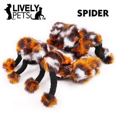 Awesome Spider Halloween Costume for Dogs and Cats | FREE SHIPPING from www.LivelyPetsOnline.com ! Check it out in the Halloween Superstore!