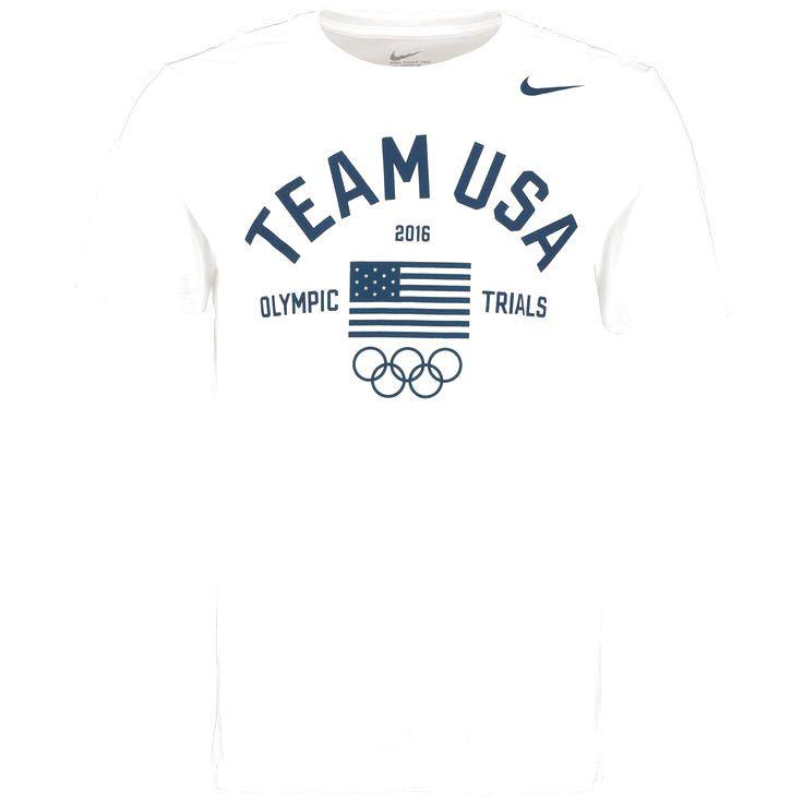 Team USA Nike 2016 Olympic Trials T-Shirt - White - $20.79