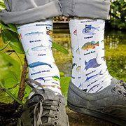 SALE TODAY!!! Good Luck Socks & More #socks #puns #trendy #fish #flag #cincodemayo #guitar #pizza #cats #birthday #mustache #funny #gift #flamingo