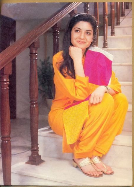 Late Singer Nazia Hassan.