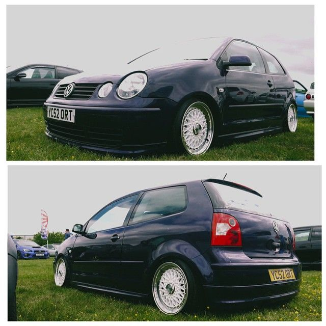 #VW #Volkswagen #polo #9n #polo9n #slammed #low #dub #stretch #votex #static #poke #southwestautosport