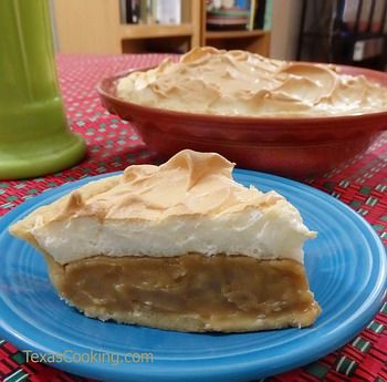 Old fashioned southern butterscotch pie...
