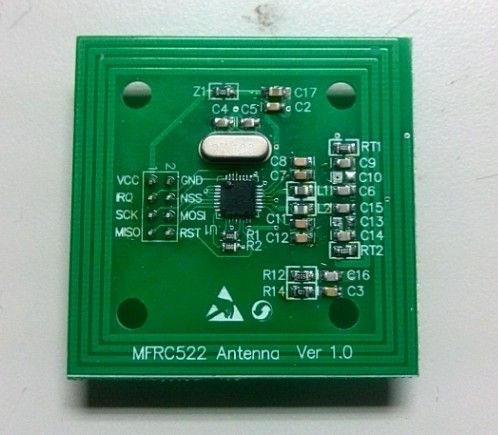 MFRC522, technical support, radio frequency identification, MFRC523, RF module, RFID, card reader, development