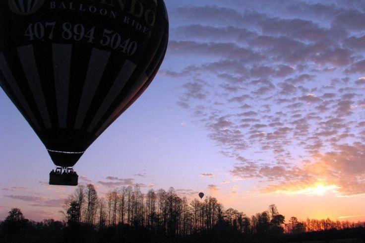 Balloonride over Orlando