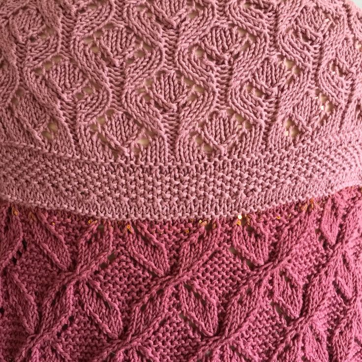 The LACELOVER Shawl pattern, WIP...follow me for release date!
