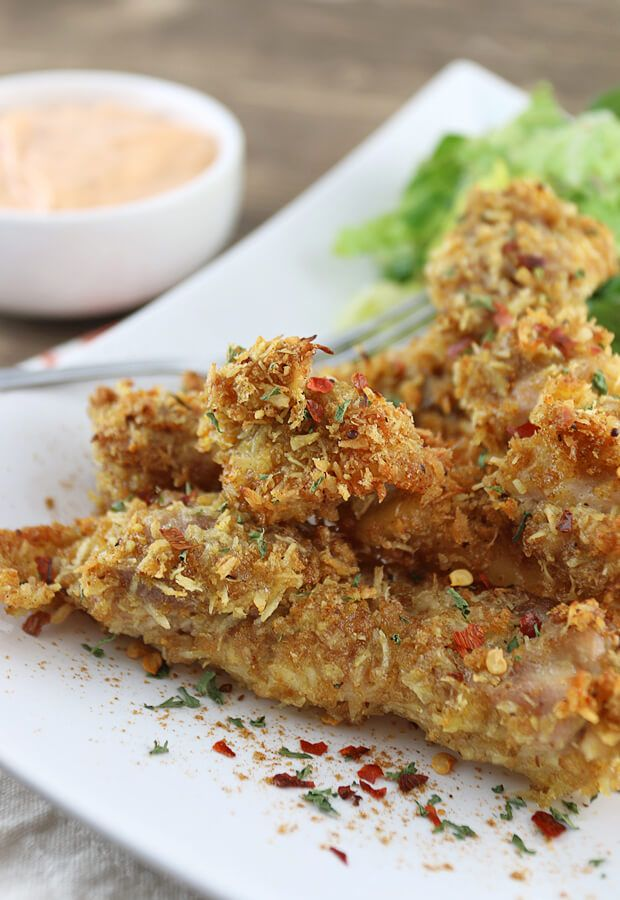 25+ bästa Coconut chicken tenders idéerna på Pinterest