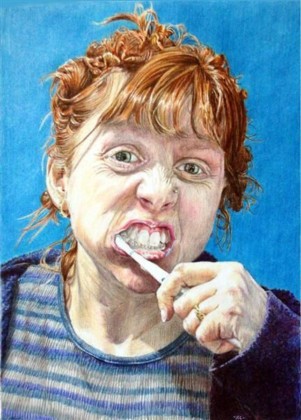 Kate Clarke COLORED PENCIL