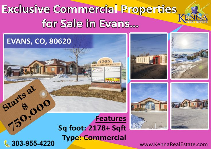 Exclusive Commercial Properties for Sale in Evans…  www.KennaRealEstate.com #Commercial, #Property, #Sale