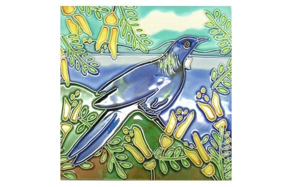 Paua World - Tui Ceramic Tile, $21.90 (http://www.pauaworld.com/tui-ceramic-tile/)