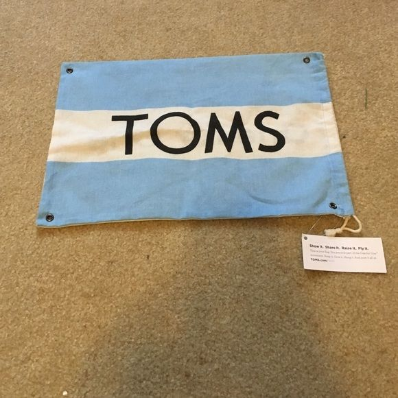 Toms bag New with tags toms drawstring bag TOMS Bags