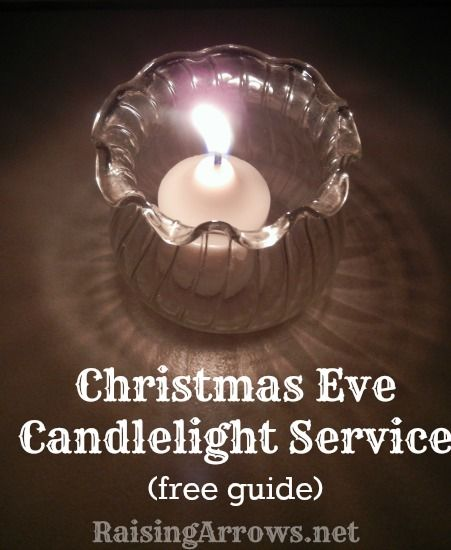 Family Christmas Eve Candlelight Service