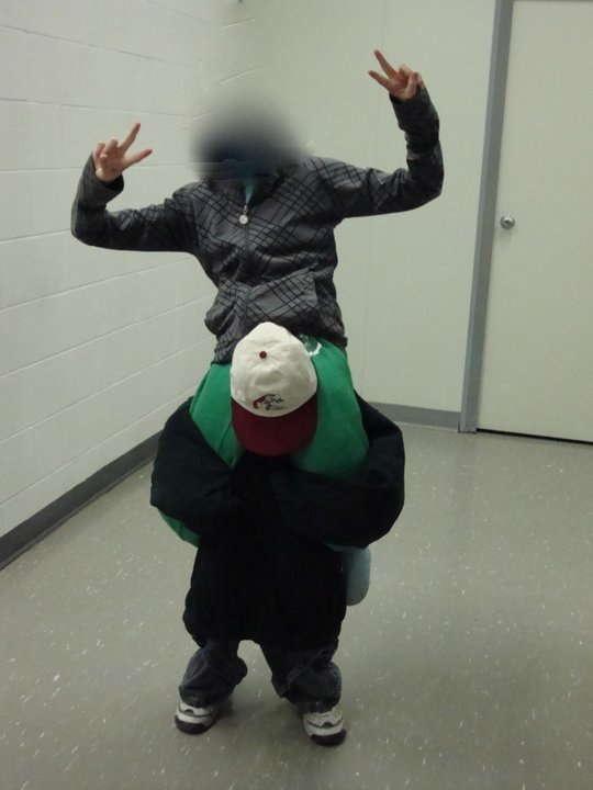 One Person Piggy Back Costume Costumes