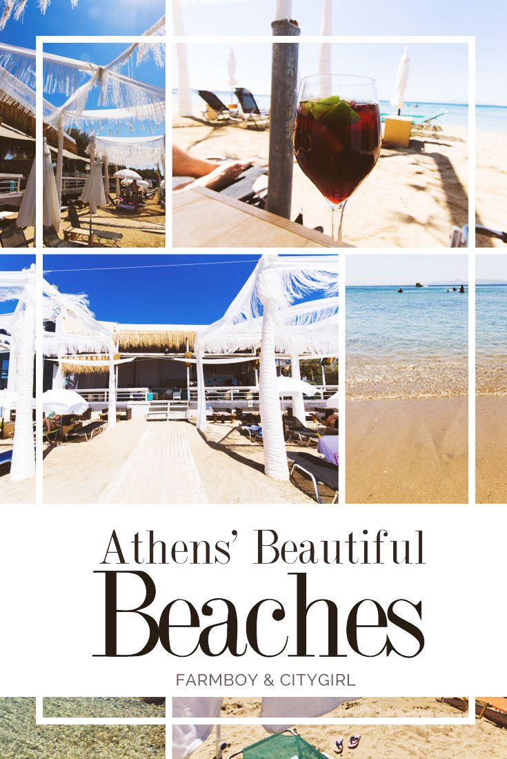 When in Athens, Don't Forget the Beaches!   http://farmboyandcitygirl.com/destinations/europe/greece/athens/when-in-athens-dont-forget-the-beaches/