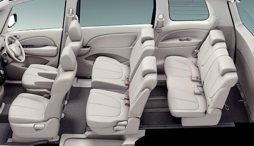 Comfortable and luxury interior of Mazda Biante