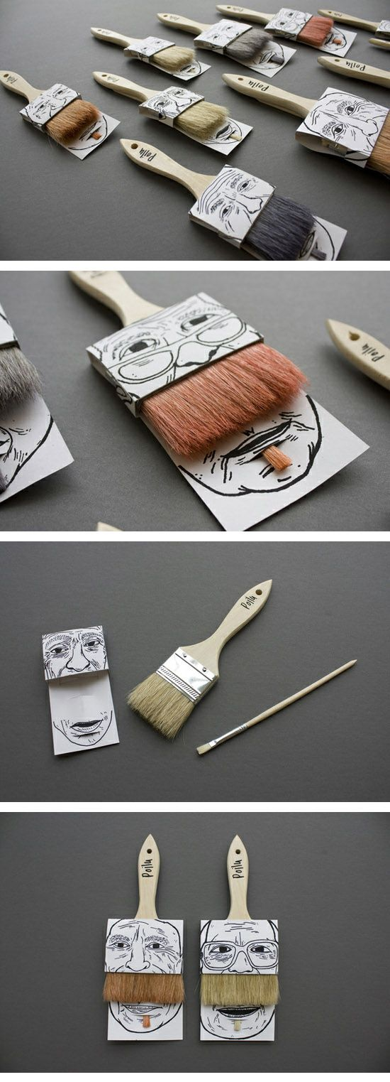 Paintbrush Packaging ( http://www.knoed.com/thewindowseat/paintbrush-packaging/ )