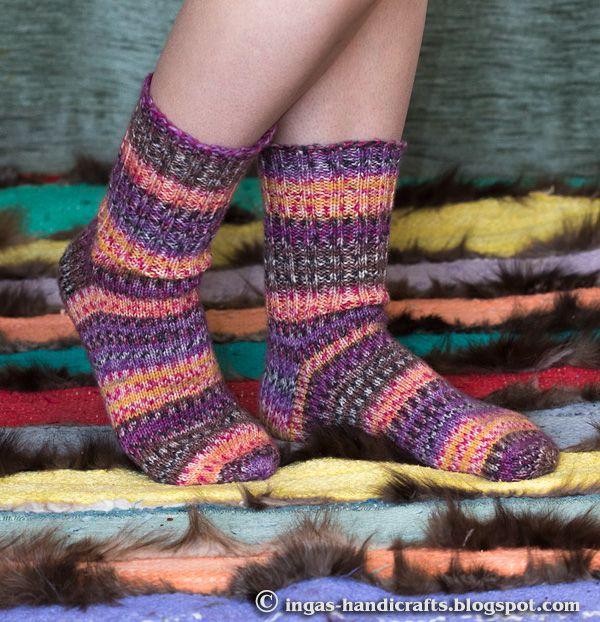 Tavalised sokid / Simple Socks