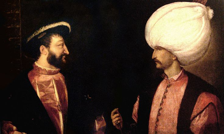 In 1536 Francis I of France allied himself with Suleiman against Charles. While Francis was persuaded to sign a peace treaty in 1538, he again allied himself with the Ottomans in 1542 in a Franco-Ottoman alliance.