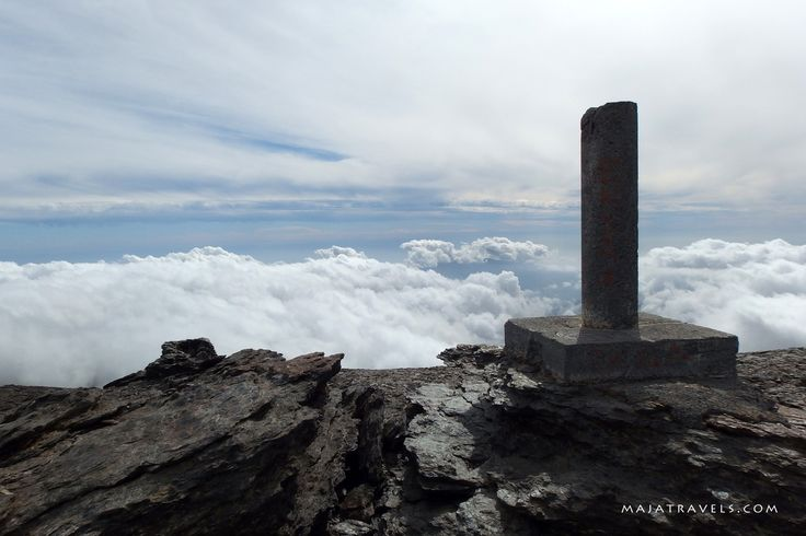 Mulhacen II summit, Sierra Nevada National Park, Andalusia, Spain