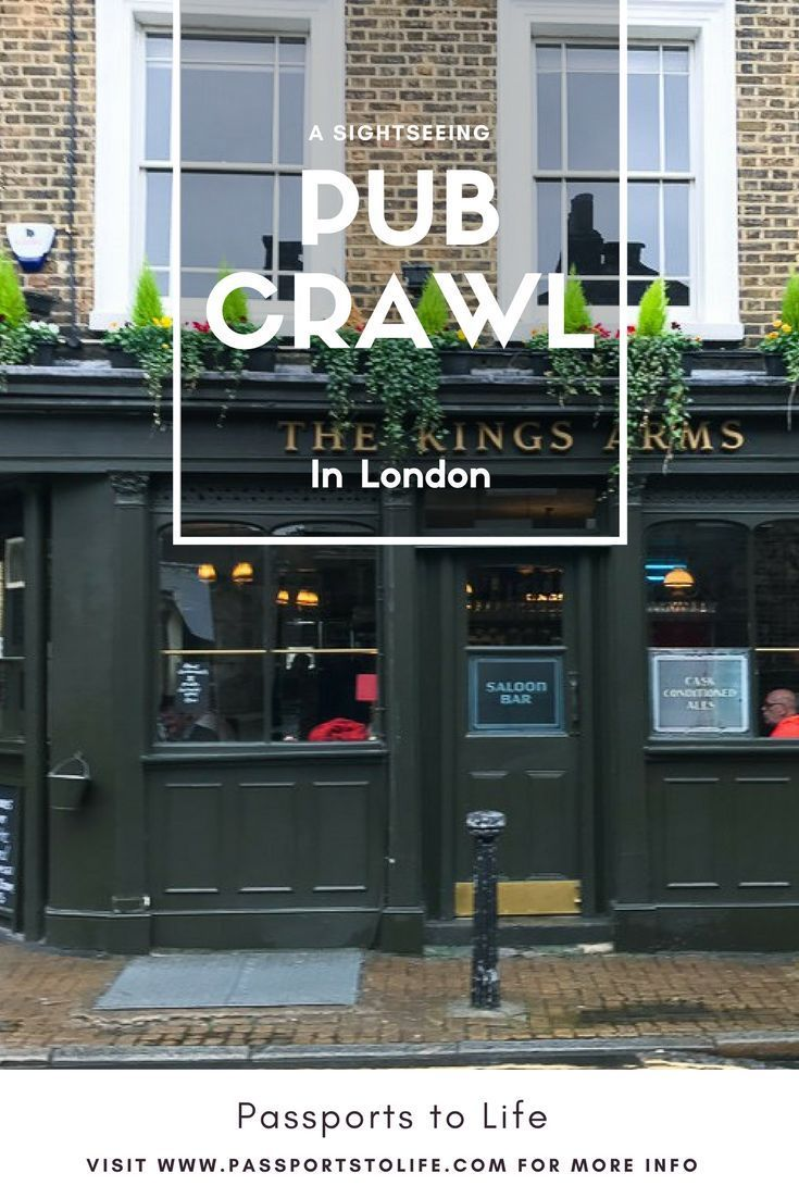 See everything that London has to offer including all the major attractions while drinking beer with the perfect London pub crawl itinerary. Bonus Map included! | Passports to Life