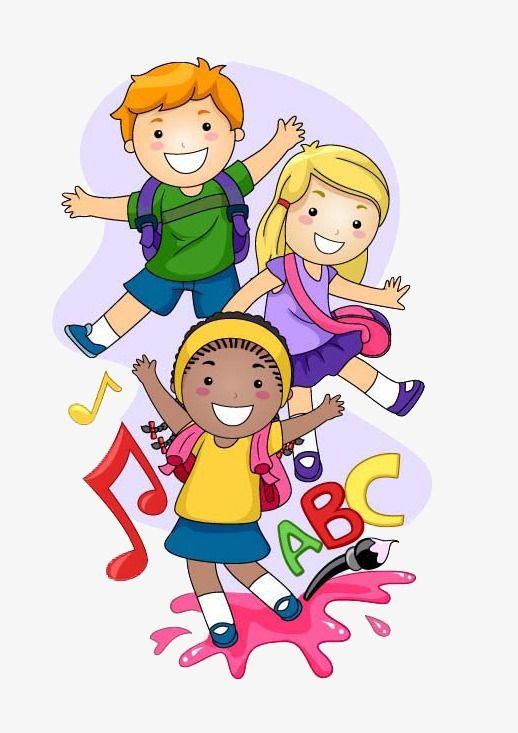 Way To School Children, School, Clipart, Children PNG ...
