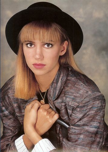 Debbie Gibson--the platonic 80's ideal to which we all aspired.