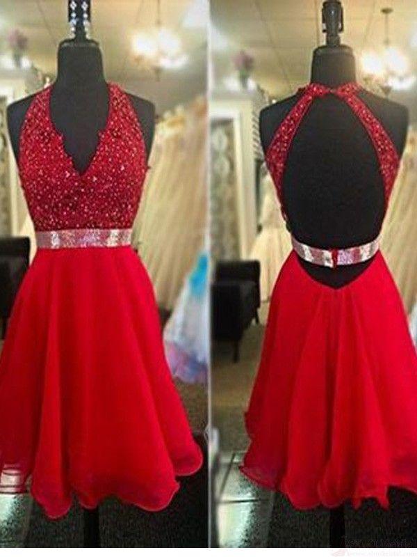 Short/Mini Prom Dress Homecoming Dress Graduation Dress Party Dress  #SIMIBridal #homecomingdresses