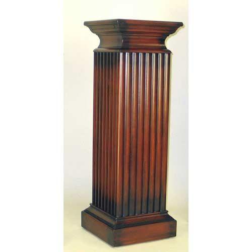 Medium Pedestal Wayborn Furniture Indoor Plant Stands
