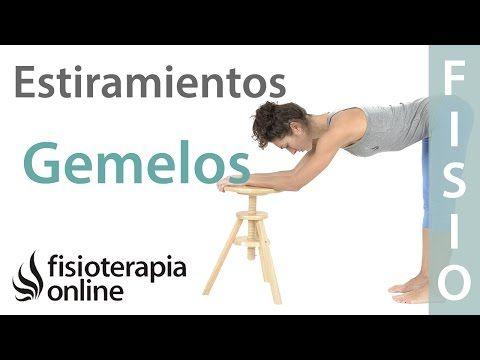 Estiramiento de músculos gemelos y triceps sural. | Fisioterapia Online