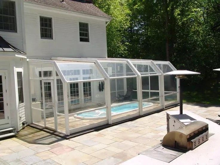17 best pool screens images on pinterest pool decks for Exercise pool canada