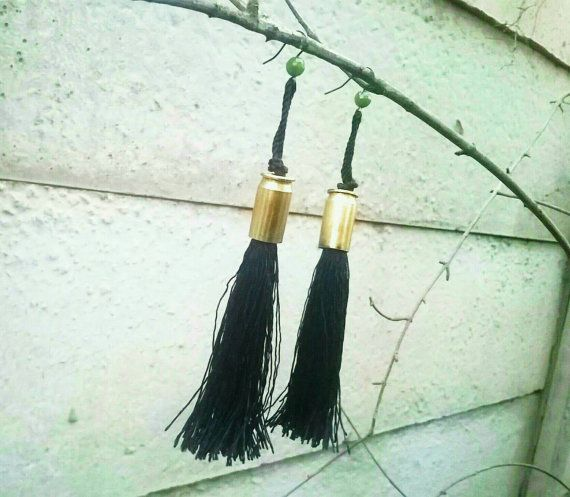 Check out this item in my Etsy shop https://www.etsy.com/uk/listing/244560356/bullet-casing-tassel-earrings