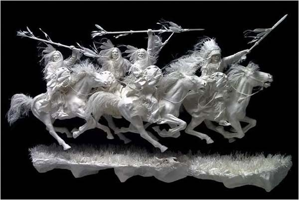 Sculpture... Ghost Riders