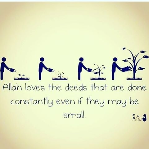 'A'isha (Allah be pleased with her) reported: The Messenger of Allah (ﷺ) did not observe fast in any month of the year more than in the month of Sha'ban, and used to say: Do as many deeds as you are capable of doing, for Allah will not become weary (of giving you reward), but you would be tired (of doing good deeds) ; and he also said: The deed liked most by Allah is one to which the doer adheres constantly even if it is small. Reference : Sahih Muslim 782 c In-book reference : Book 13…