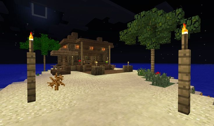 A nice starter hut for a lazy adventurer (pics and download inside) - Creative Mode - Minecraft Discussion - Minecraft Forum - Minecraft Forum