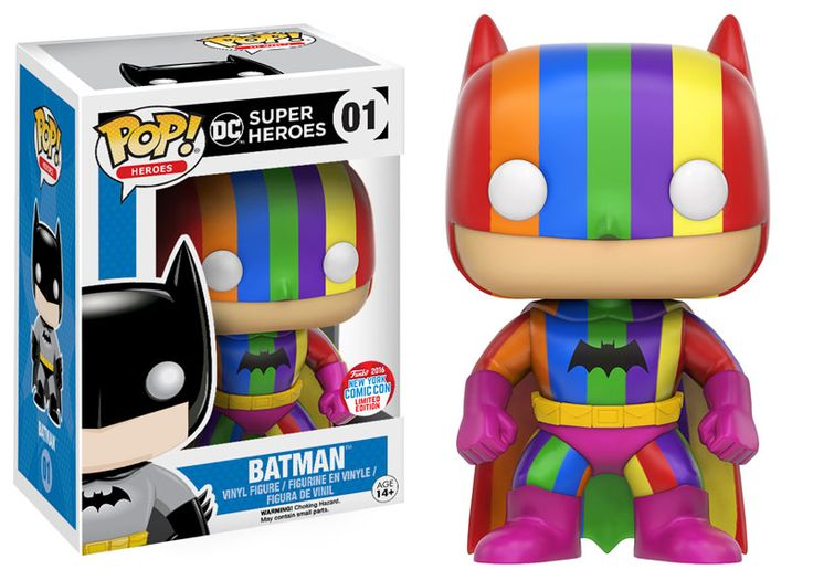 Funko is proud to announce the latest batch of New York Comic Con 2016 exclusives! Our exclusives contain many of Funko's most popular lines like Pop!, Dorbz, and ReAction! Our goal was to cover as many beloved licenses and characters as possible to remind every Comic Con attendee why they fell in love with these stories in the first place! Without further ado, here is the latest installment of Funko's New York Comic Con exclusives list! Today's announcement includes a couple great TV…