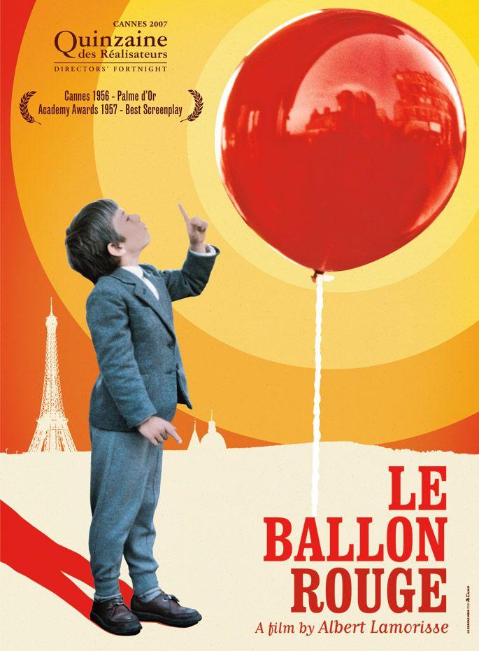 Le ballon rouge - Cinéma, Posters, Affiches de Film - Conception & Design Graphique /// Aurélie Huet a.k.a. Aurel