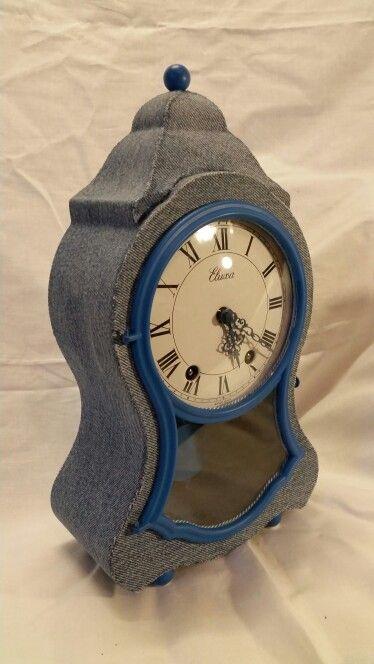 Bluejeans Clock Regency model by CLOoCKing Hand&Swissmade