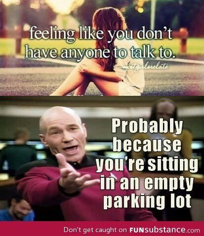 HAHAHA! If you wanna talk to someone, go to a place were the people are! They'll notice you! I'm one of the quietest people, I rarely ever make a noise, but people are always talking to me because I'm over there with them.
